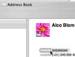 Address Book plug-in