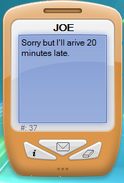 SMS Vista undocked