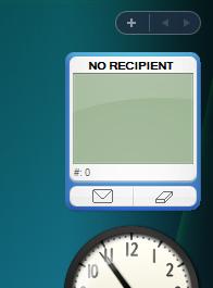SMS Sidebar Gadget